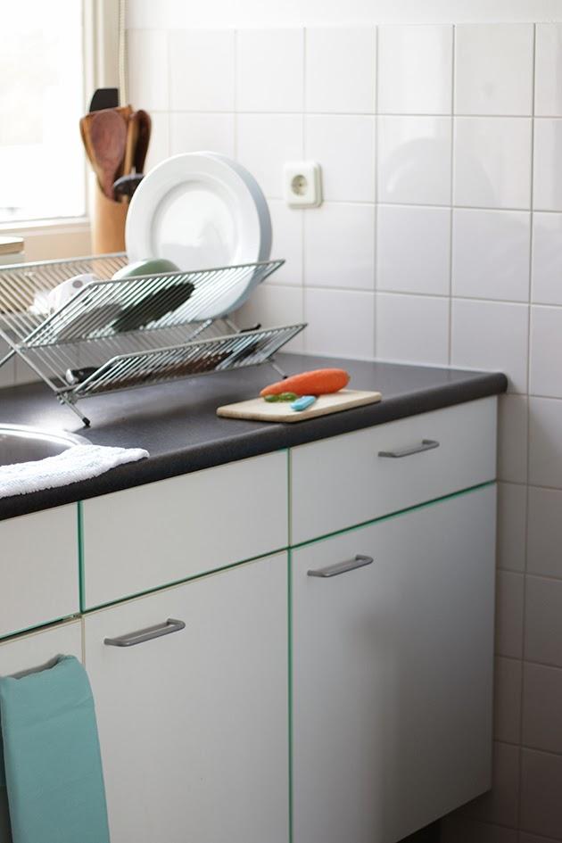 Keuken aankleding kitchen upgrade we definitely - Tape geleid keuken ...